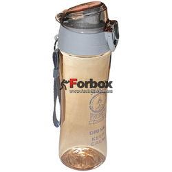 Бутылка для воды спортивная 500мл (FI-6424-2, коричневый)