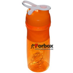Шейкер с венчиком для спортивного питания Blender 760ml (FI-601, оранжевый)