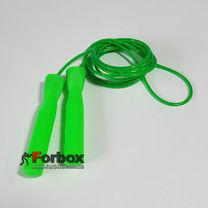 Скакалка со стальным тросом Zelart скоростная (FI-4865, зеленый)