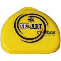 Универсальный футляр для капы Zelart (BO-4278, желтый)