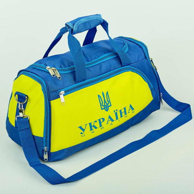fee749a10f9d Сумка для тренировок с национальной украинской символикой (GA-5632-U, сине-