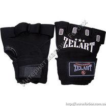 Гелевые быстрые бинты (перчатки) Zelart (ZB-6106, черные)