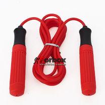 Скакалка Zelart с пластиковыми ручками PVC жгутом 3.1м (FI-2550, красная)