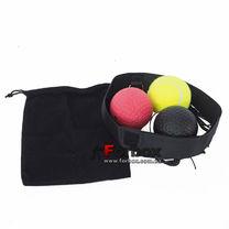 Тренажер Fight Ball для бокса с тремя мячиками (С-2855-YRBL)