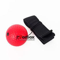 Теннисный мяч на резинке Fight Ball (BO-0374-R, красный)