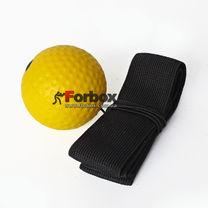 Теннисный мяч на резинке Fight Ball (BO-0374-Y, желтый)