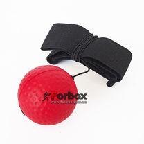 Теннисный мяч на резинке Fight Ball (BO-0374B-R, красный)