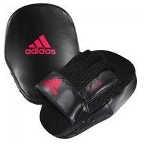 Лапы скоростные Adidas Speed Coach Mitts PU (ADISBAC014, черно-красные)