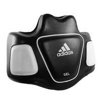 Тренерский жилет для постановки ударов Adidas GEL (ADISBP01, черно-белый)