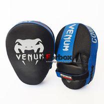 Лапы боксерские изогнутые VENUM CELLULAR 2.0 из натуральной кожи (0439, черно-синий)