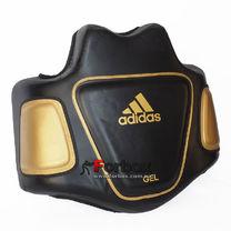 Тренерский жилет для постановки ударов Adidas GEL (ADISBP01, черно-золотой)