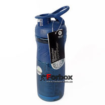 Шейкер Blender Bottle SportMixer с шариком 590 мл (BB-71823-BKBL, Черно-Синий)