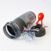 Шейкер Blender Bottle SportMixer с шариком 820 мл (BB-71823, черно-красный)