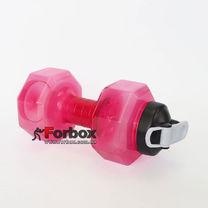 Пляшка для води спортивна SP-Planeta BIG Dumbbell 2200мл (FI-7154, рожевий)
