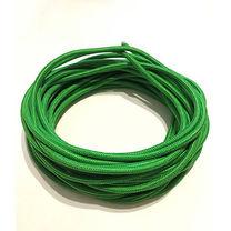 Жгут спортивний гумовий в тканинній оплітці 1 метр (rez.green10, Зелений)