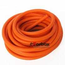 Жгут эластичный трубчатый, резиновый борцовский 1 метр (FI-6253-6-OR, оранжевый)