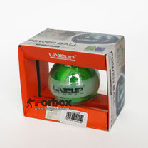 Power Ball тренажер для кистей рук LiveUp LS3320 (109252, зеленый)