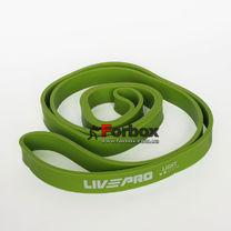 Резинка для подтягиваний LivePro Super Band LP-8410 Light 2080*22*4.5 мм (101553, зеленый)