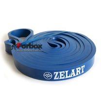 Резинка для підтягувань Power Bands 2000*13*4,5 мм (FI-3917-2, синій)