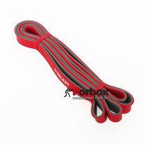 Резинка для подтягиваний двухслойная DUAL POWER BAND 2080*19*4,5 мм (FI-0911-3-R, красный)