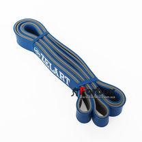 Резинка для подтягиваний двухслойная DUAL POWER BAND 2080*29*4,5 мм (FI-0911-5-BL, синий)
