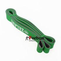 Резинка для подтягиваний двухслойная DUAL POWER BAND 2080*32*4,5 мм (FI-0911-6-GN, зеленый)