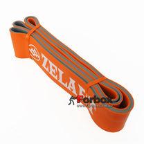 Резинка для подтягиваний двухслойная DUAL POWER BAND 2080*64*4,5 мм (FI-0911-8-OR, оранжевый)