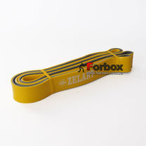 Резинка для подтягиваний двухслойная DUAL POWER BAND 2080*32*4,5 мм (FI-0911-6-Y, желтый)