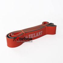 Резинка для подтягиваний двухслойная DUAL POWER BAND 2080*45*4,5 мм (FI-0911-7-OR, оранжевый)