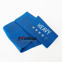 Стрічка еластична для фітнесу та йоги LivePro Resistance Band Heavy 2000*150*0.6 мм (LP8413-H, синій)