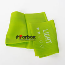 Стрічка еластична для фітнесу та йоги LivePro Resistance Band Light 2000*150*0.3 мм (LP8413-L, зелений)