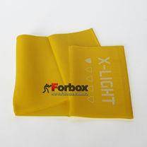 Лента эластичная для фитнеса и йоги LivePro Resistance Band X-light 2000*150*0.3 мм (LP8413-XL, желтый)