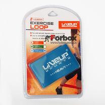Лента сопротивления для фитнеса LiveUp Latex Loop LS3650-500Hb (105582, синий)
