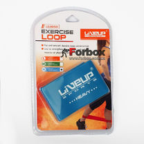 Стрічка опору для фітнесу LiveUp Latex Loop LS3650-500Hb (105582, синій)
