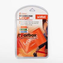 Стрічка опору для фітнесу LiveUp Latex Loop LS3650-500Lo (105568, помаранчевий)