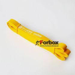 Резиновая петля для тренировок и подтягиваний Power System (PS-4051-YL, Yellow)
