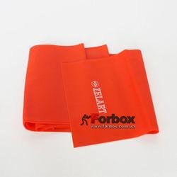 Ленты эластичная для фитнеса и йоги Record 1500*150*0.45 мм (FI-6219-1,5-8, оранжевый)