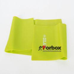 Ленты эластичная для фитнеса и йоги Record 1500*150*0.45 мм (FI-6219-1,5-2, зеленый)