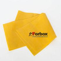 Ленты эластичная для фитнеса и йоги CUBE 1500*150*0.45 мм (FI-6256-1,5-4, желтый)