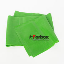 Ленты эластичная для фитнеса и йоги CUBE 1500*150*0.45 мм (FI-6256-1,5-7, зеленый)
