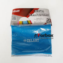 Ленты эластичная для фитнеса и йоги TUBE 1200*150*0.3 мм (FI-6306-1,2, синий)