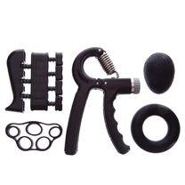 Набор эспандеров кистевых JELLO (FI-2527-BK, черный)