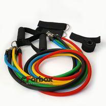 Эспандер Power Bands многофункциональный 5 жгутов (FI-5955)