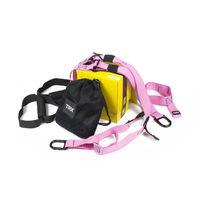 Петли TRX многофункциональный тренажер Pro Pack Home Pink (FI-3726-P, розовые)