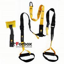Петли TRX функциональный тренажер Kit P1 (FI-3723-02, черно-желтый)
