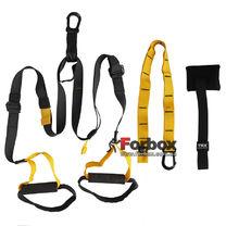 Петли TRX многофункциональный тренажер Pro Pack Р3 Home (FI-3726-05, черно-желтый)
