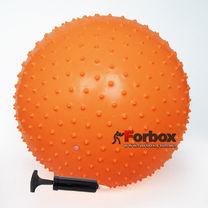 Мяч для фитнеса (фитбол) массажный 55см Power Play (4002, оранжевый)