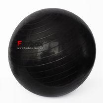 Мяч для фитнеса (фитбол) гладкий глянцевый 65см Zelart (FI-1980-65, черный)