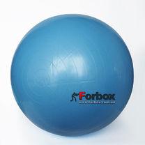 Мяч для фитнеса (фитбол) гладкий глянцевый 85см Zelart (FI-1982-85, синий)