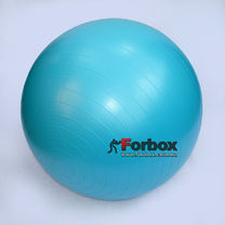 Мяч для фитнеса (фитбол) гладкий сатин 65см Zelart (FI-1983-65, синий)